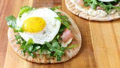 Crispy Breakfast Pita with Prosciutto Recipe by Giada De Laurentiis