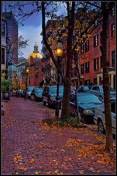 Fall in Boston.a city I'd consider. city life is not my style, I'd live here Oh The Places You'll Go, Great Places, Places To Travel, Places To Visit, Boston In The Fall, In Boston, Boston Strong, Boston Tour, Visit Boston