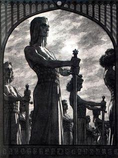 Fidus- Schwertwache
