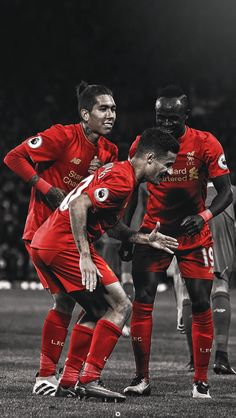 Liverpools front three