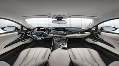 BMW I12 i8 eDrive Coupe Ionic Silver Interior Design #BMW #i8 #Coupe #eDrive #MPerformance #xDrive #SheerDrivingPleasure #Green #City #Tuning #Electric #Burn #Blue #Provocative #Eyes #Sexy #Hot #Badass #Drift #Live #Life #Love #Follow #Your #Heart #BMWLife