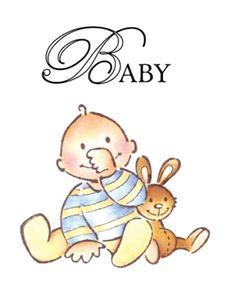 Marianne Design Stamps - Baby Boy (EC0111)