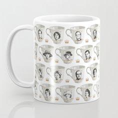 Coffee Mug Coaster Gift Set Downtown Abbey Awesome Cast Tea