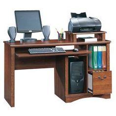Sauder Camden County Planked Cherry Computer Desk 101730