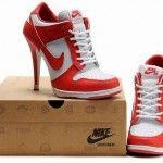 nike heels red
