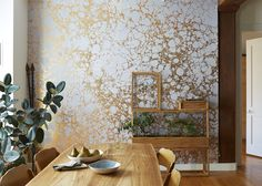 Calico Wallpaper, 'Wabi' photography by Stephen Kent Johnson, styling by Megan Hedge #plantincity