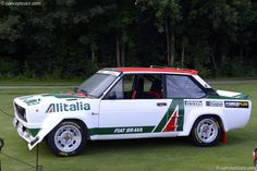 Photographs of the 1979 Abarth 131 Group Sedan. An image gallery of the 1979 Abarth 131 Group 4 Images, Fiat Abarth, Concours D Elegance, Group
