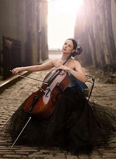 cellist. Senior photoshoot:)                                                                                                                                                      More
