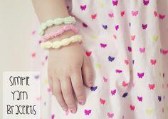 Jewelry Crafts: Simple Jewelry Made With Yarn
