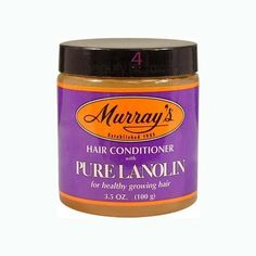 Murrays Pure Lanolin Hair Conditioner 3.5 Oz by Murrays. $3.99