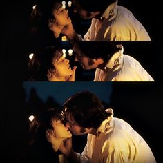 """You may only call Mrs. Darcy when you are perfectly and incandescently happy."" ""How are you this evening Mrs Darcy? *kiss* Mrs. Darcy *kiss* Mrs. Darcy*kiss* Mrs Darcy."" *SQUEE* Favorite part in the ENTIRE movie!!! <3"