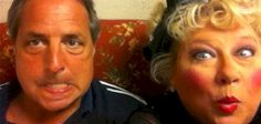 """Jon Lovitz and Victoria Jackson. Jackson's new song, """"There's a muslim in the white house""""."""