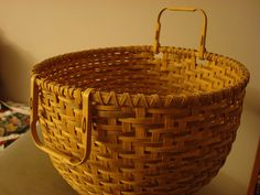 White oak basket#Repin By:Pinterest++ for iPad#