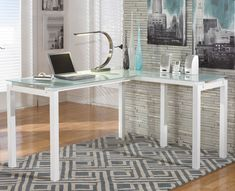 Baraga - Home Office Desk Base by Signature Design by Ashley. Get your Baraga - Home Office Desk Base at JB's Furniture, Milwaukee WI furniture store. L Desk, Home Office Computer Desk, Home Office Furniture, Desk Chairs, Rustic Furniture, Office Chairs, Office Table, Dining Chairs, Furniture Stores