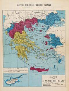 The New Greater Greece, 1920.