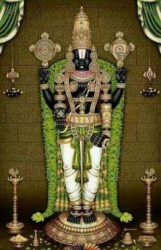 Lord Venkata chala pathy (VISHNU)