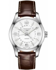 Best Longines Conquest Classic Automatic GMT 42mm Mens Watch L2.799.4.76.3