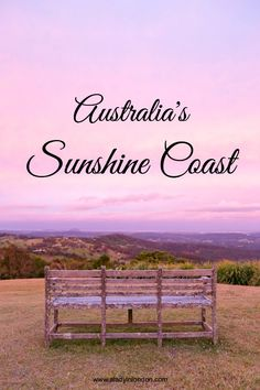 I'm spending 3 days on the Sunshine Coast in Australia with the locals, and I find 4 places that I can't help falling in love with.
