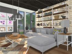 - Avangarde Living Room  Found in TSR Category 'Sims 4 Living Room Sets'