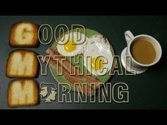 The first ever episode of Good Mythical Morning. <3
