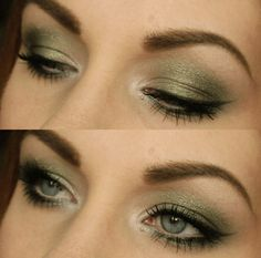Sultry... Love this look! Looks great with brown eyes!
