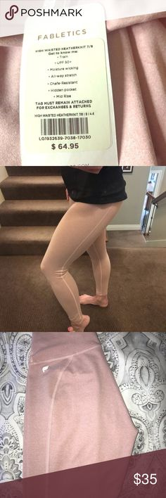 Shop Women's Fabletics size S Leggings at a discounted price at Poshmark. Lots of features! Moisture wicking, all-way stretch, length tight. High Waisted Tights, Leggings Are Not Pants, Moisturizer, Pants For Women, Cozy, Closet, Things To Sell, Moisturiser, Closets