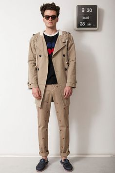 Fantastic men's style. Band of Outsiders SS13.