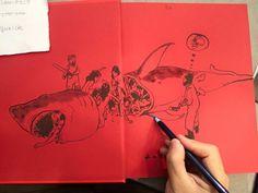 Kim Jung Gi book signing at Angouleme Comics Festival