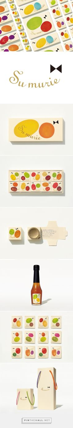 Assorted Su murie products via Canaria-World curated by Packaging Diva PD. Sauce, tea (I think) I just love the packaging.