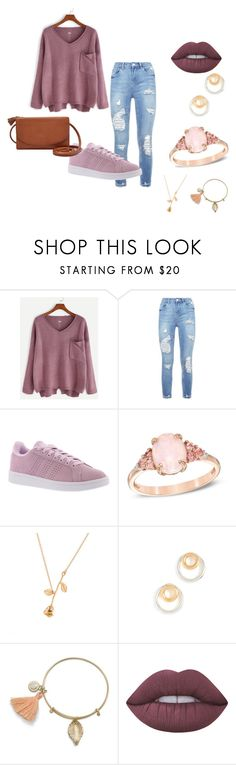 """Untitled #66"" by magda-afifi on Polyvore featuring adidas, Madewell and Lime Crime"