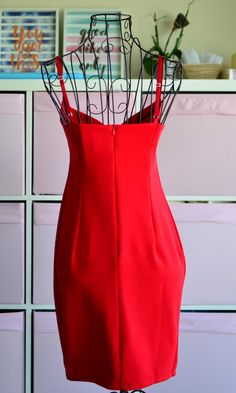 Classicred body con dress - what else can we say? Featuring classic sexy red material,plunging neckline, thin shoulder straps in a bodycon style, team it with strappy heels and hoop earrings to complete the look. This killer mini red dressis the sex bomb. Perfect for clubbing and night out! Material: cotton + spand Red Bodycon Dress, Bodycon Fashion, Bodycon Style, Strappy Heels, Plunging Neckline, Night Out, Freedom, Summer Dresses