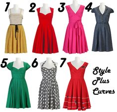 eShakti frocks for spring-- they really have some of the most adorable retro stuff