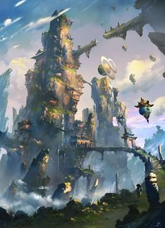 ART JOPY #Art #Sci-fi #fantasy