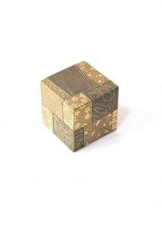 Sayanuri, gold lacquer, small box- Yamamura
