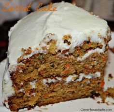 Scrumdidilyumptious Carrot Cake - Clever Housewife