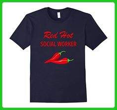 Mens Funny Social Worker Appreciation T Shirt Gift Hot XL Navy - Careers professions shirts (*Amazon Partner-Link)