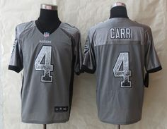 Okaland Raiders 4 Carr Drift Fashion Grey 2014 New Nike Elite Jerseyscheap nfl  jerseys 1bc46c766