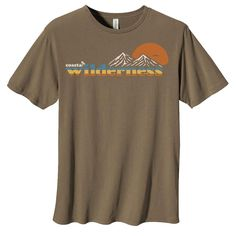 Feel that cool breeze tingle your skin as you reach for the summit to watch the perfect sunset. The Mountain Sunset t-shirt will keep you comfortable all the way through your ascent. The heavier 100% cotton will stand up to anything you put it through. Features 100% Certified Organic Cotton ring-spun jersey; 5.5 oz/yd2 (150gsm); organic cotton/ 1x1 neck rib. Side seam construction Shoulder seam clean finished with self fabric tape Double needle cover-stitched seams, cotton rib neck Mountain Sunset, Fabric Tape, All The Way, Breeze, Organic Cotton, Construction, Ring, Watch, Shoulder