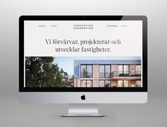 Branding and website for Scandinavian developer Innovation Properties by 25AH