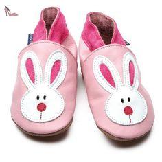 4e13b7be9077d Inch Blue - 1432 XL - Chaussures Bébé Souples - Flopsy - Rose Clair - T