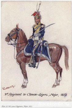 9th Lancer Regiment,Major 1813 9e Régiment de chevau-légers,Major 1813