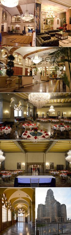 Statler City Terrace Room | Finding a Wedding Venue in Buffalo, NY | Rose Tinted Home