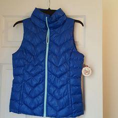 Blue Puffer Beautiful blue puffer vest. SO Jackets & Coats Puffers