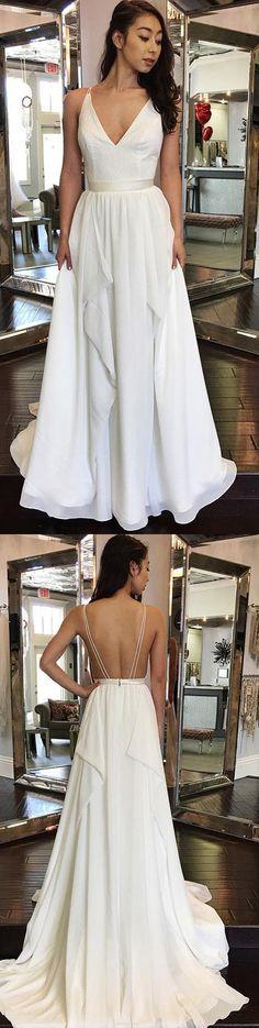 Long Train Wedding Dresses, Sleeveless Wedding Dresses, Wedding dresses Train, Sexy Wedding Dresses, Ivory Wedding Dresses, Long Wedding Dresses, Sexy Long Dresses, Long Sexy Dresses, A-line Wedding Dresses