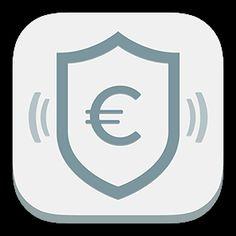 #kontoalarm gibt es im Apple #App Store für iPhone und iPad. Achte einfach auf unser Logo!