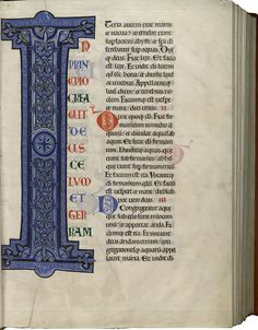 GREAT BIBLE OF CLAIRVAUX gdebbdeclairvaux_page1.png (970×1245)