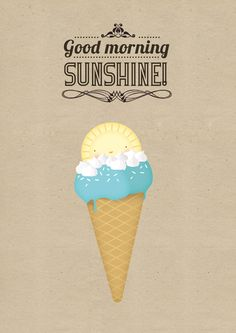 Good morning Sunshine! | annalisabernabovi | Illustrator & graphic designer