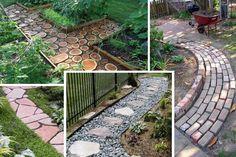 garden pathways materials