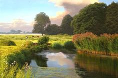 """Landscape Oil Paintings by British Artist Michael James Smith"" 