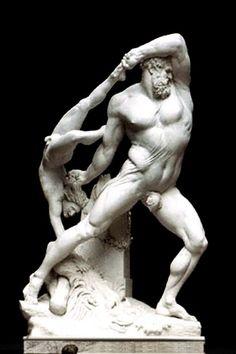 Hércules y Licas. Canova